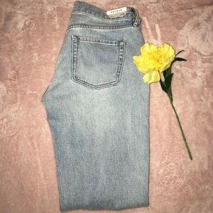 PacSun ripped boyfriend jeans